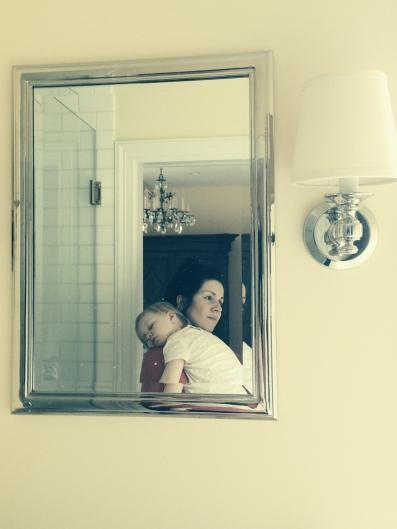 mama and o sleeping